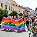 Foto: Ľudí na Pride v Banskej Bystrici spojila snaha o zmenu klímy v spoločnosti