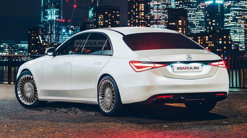 Mercedes-Benz S class 2020