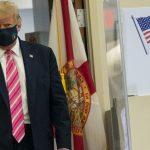 Trump využil predčasné hlasovanie, volil na Floride