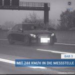 Nemecký vodič prekročil rýchlosť o 164 km/h.