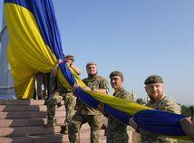 Ukrajina Kyjev Nezávislosť Vyhlásenie Výročie