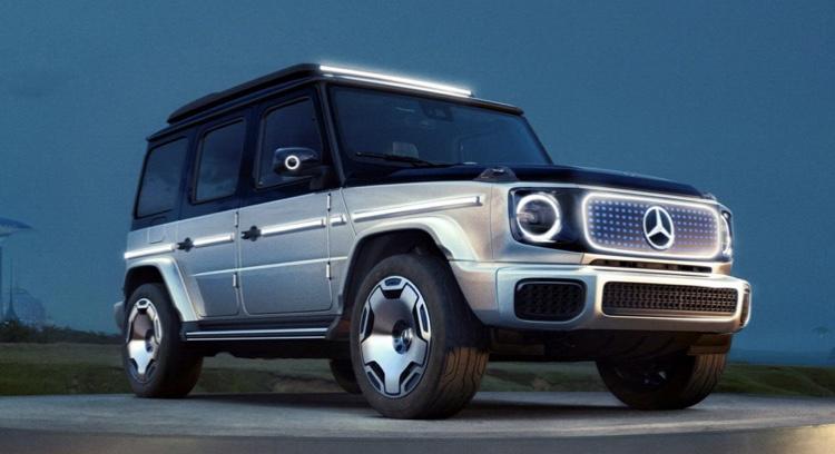 Legendárny Mercedes triedy G bude aj elektrický. Volať sa bude EQG.